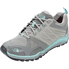 The North Face Ultra Fastpack II GTX Calzado Mujer, moon mist grey/agate green